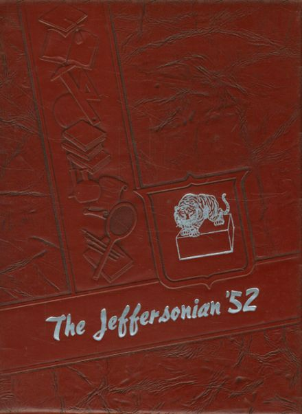1952 West Jefferson High School Yearbook Cover