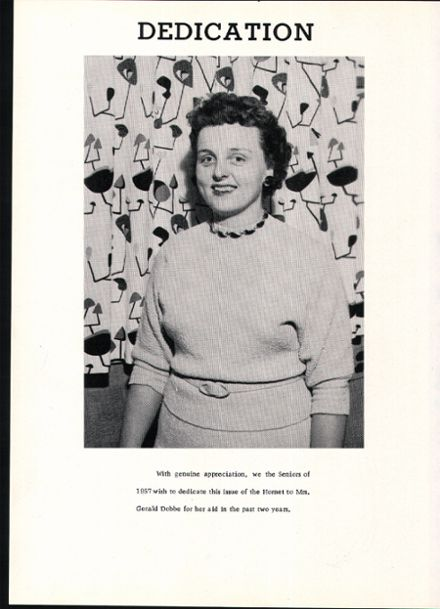 1957 Rosholt High School Yearbook Page 6