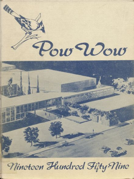 1959 Junction City High School Yearbook Cover