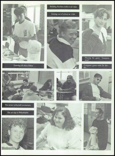 1994 Octorara High School Yearbook Page 9