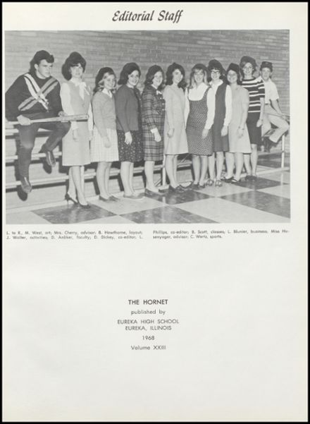 1968 Eureka High School Yearbook Page 5
