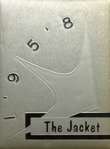 1958 Abbeville High School Yearbook Cover