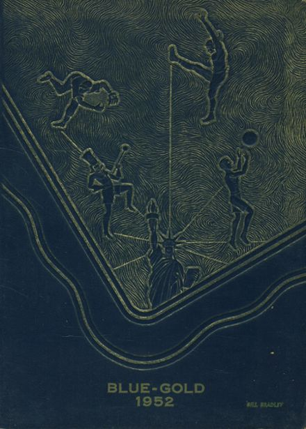 1952 Saegertown High School Yearbook Cover
