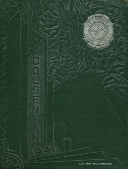 1941 Collingdale High School Yearbook Cover