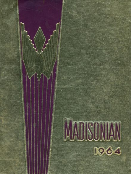 1964 Madison High School Yearbook Cover