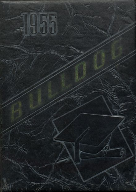 1955 Jay High School Yearbook Cover