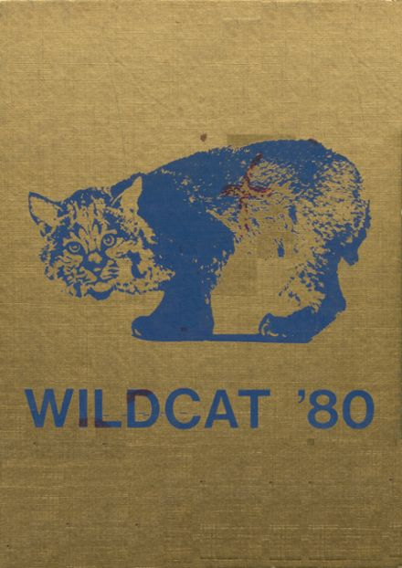 1980 Olive High School Yearbook Cover