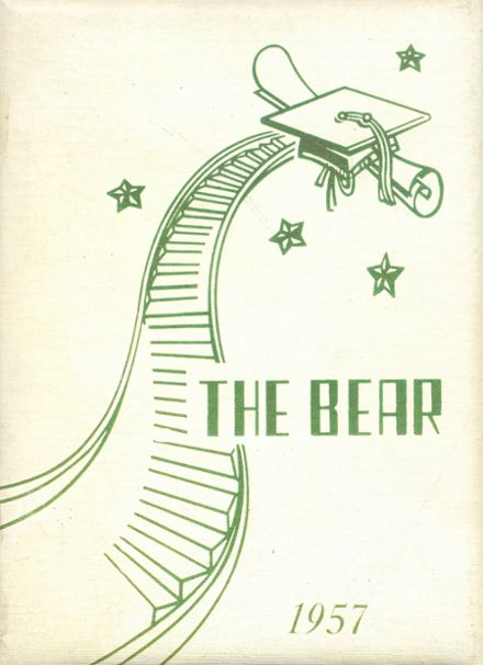 1957 Bentleyville High School Yearbook Cover