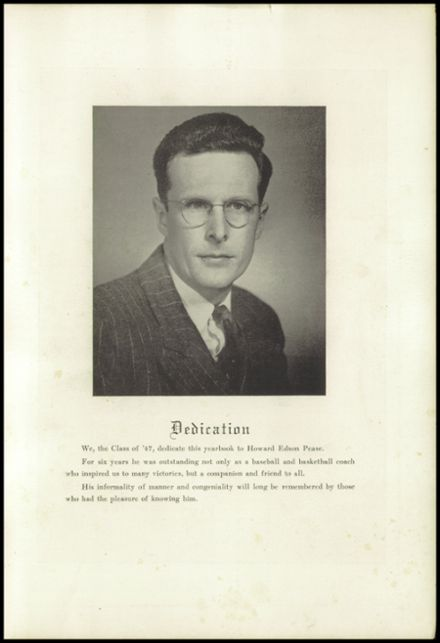 1947 New Milford High School Yearbook Page 3