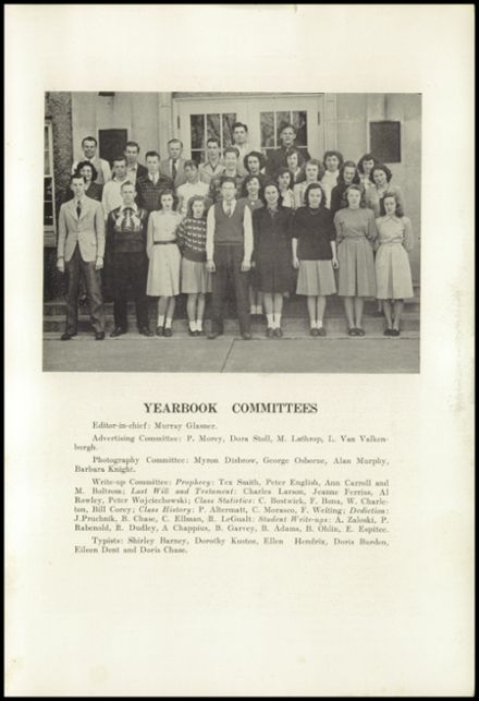 1947 New Milford High School Yearbook Page 5