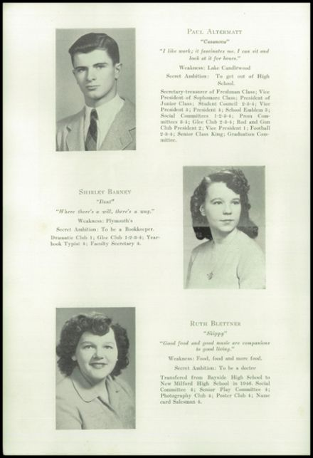 1947 New Milford High School Yearbook Page 8