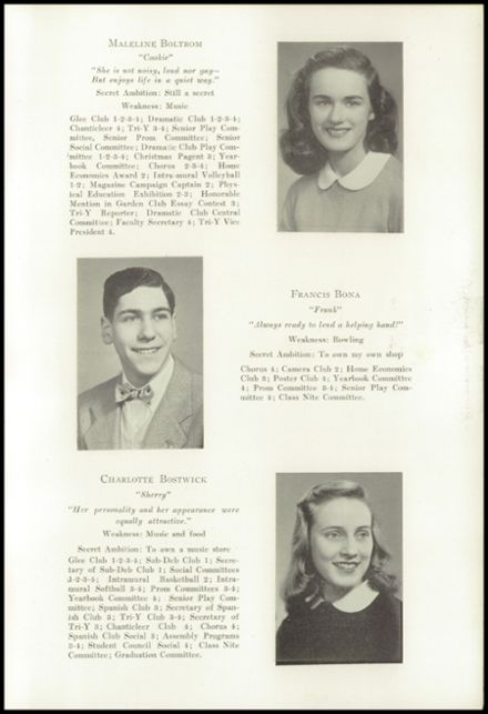 1947 New Milford High School Yearbook Page 9
