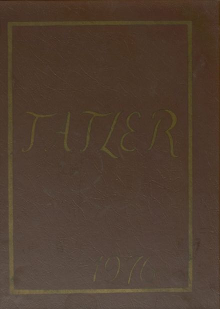 1976 William Penn High School Yearbook Cover