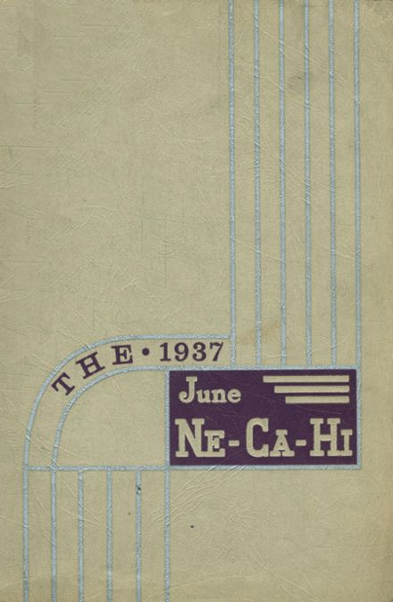 1937 New Castle High School Yearbook Cover