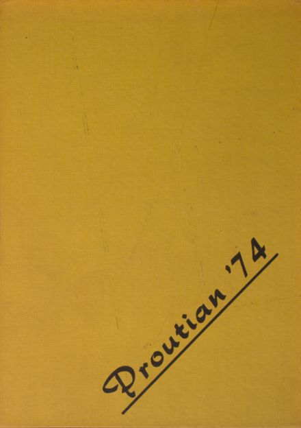 1974 Prouty Regional High School Yearbook Cover