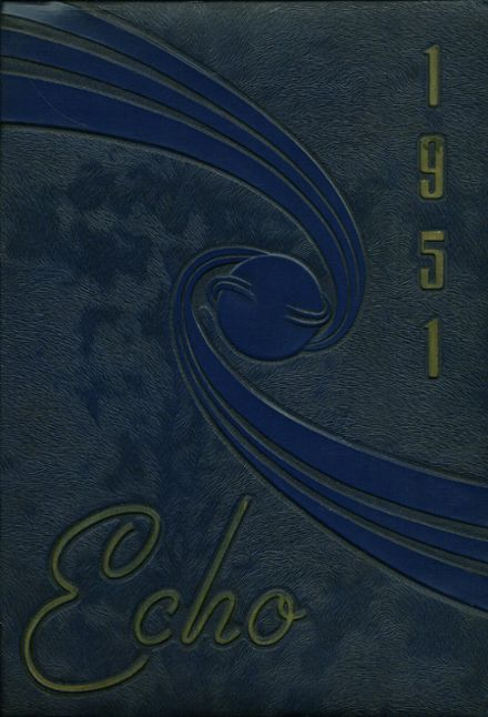 1951 East Canton High School Yearbook Cover