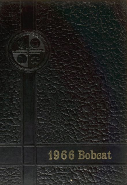 1966 Grand Community High School Yearbook Cover