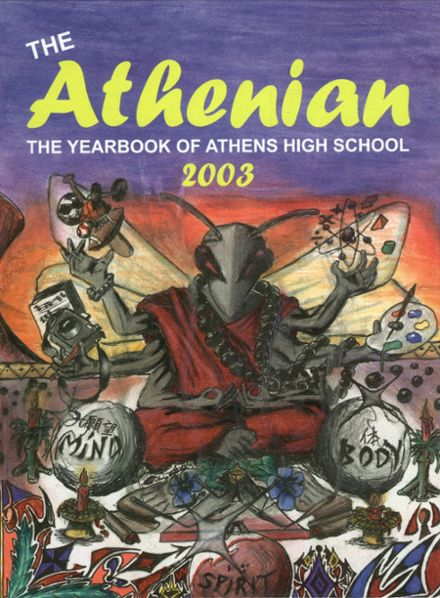 2003 Athens High School Yearbook Page 1
