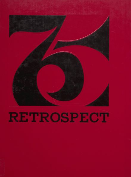 1975 Bluffton High School Yearbook Cover