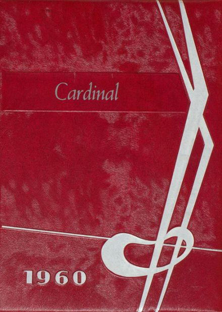 1960 Carrington High School Yearbook Cover