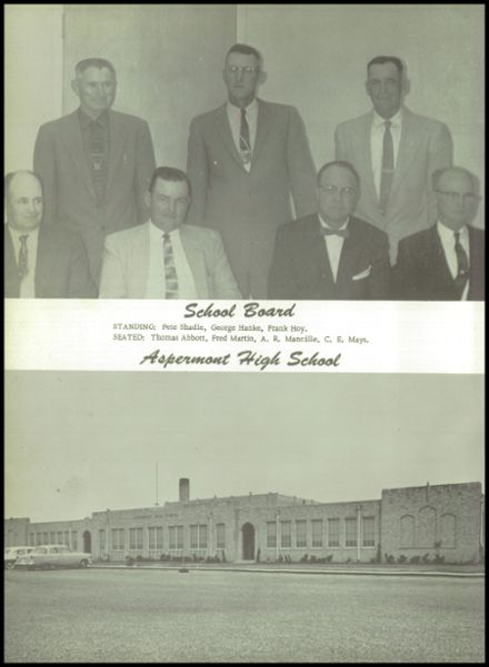 1959 Aspermont High School Yearbook Page 8