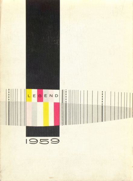 1959 Bountiful High School Yearbook Cover
