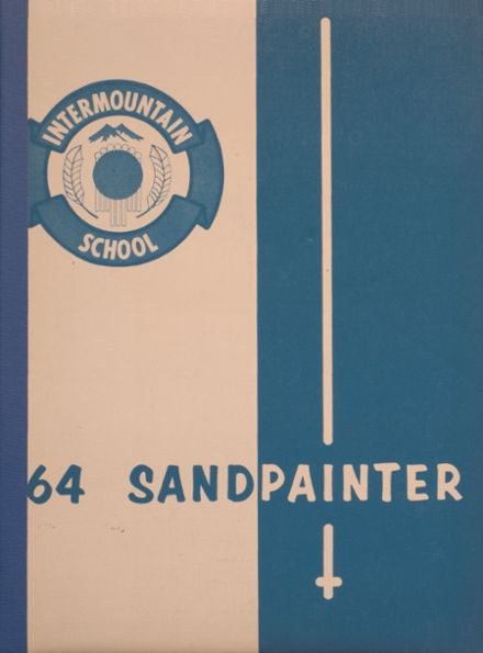 1964 Intermountain Indian High School Yearbook Cover