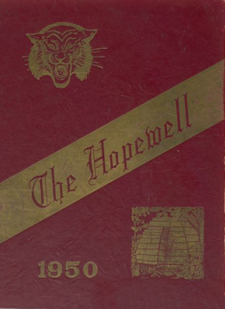 1950 Struthers High School Yearbook Cover