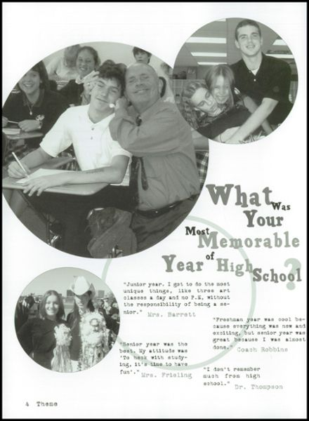 2004 Lutheran High School Yearbook Page 8