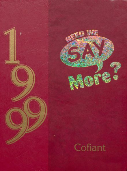 1999 Glasgow High School Yearbook Cover