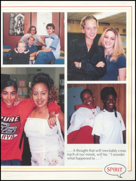 1999 Glasgow High School Yearbook Page 9