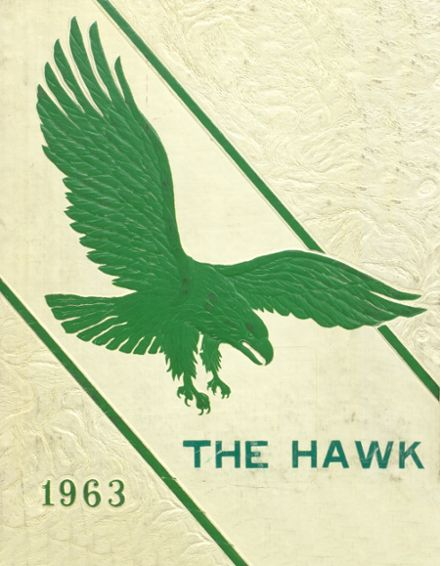 1963 Woodward Community High School Yearbook Cover