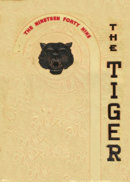 1949 Community High School Yearbook Cover