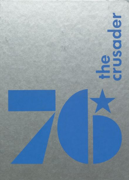 1976 St. Agnes Academy Yearbook Cover