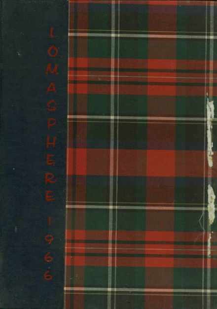 1966 Loma Linda Academy Yearbook Cover