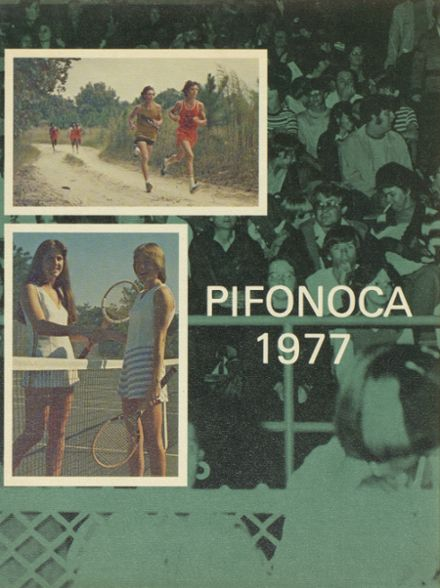 1977 Pine Forest High School Yearbook Cover