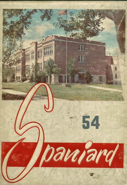 1954 Spanish Fork High School Yearbook Cover