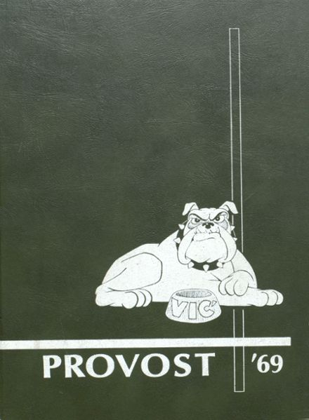1969 Provo High School Yearbook Cover