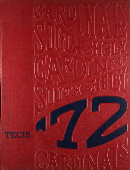 1972 South Shelby High School Yearbook Cover