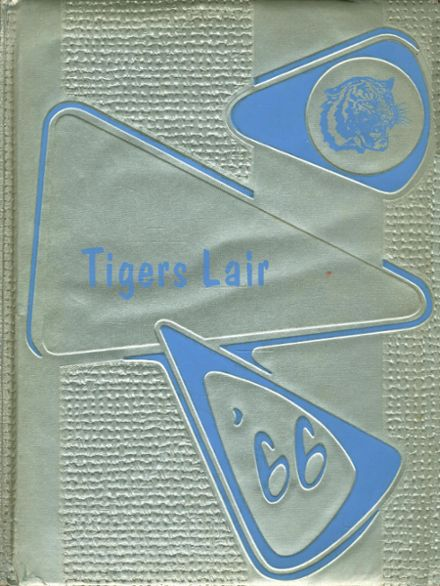 1966 Hico High School Yearbook Cover