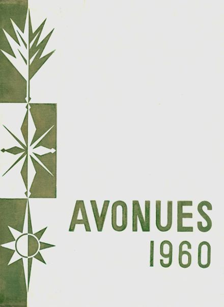 1960 Avondale High School Yearbook Cover
