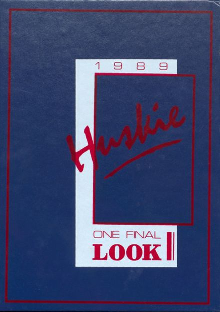 1989 Mason City High School Yearbook Cover