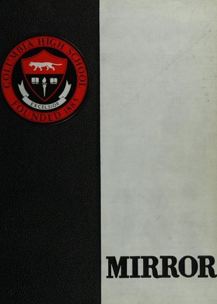 1961 Columbia High School Yearbook Cover