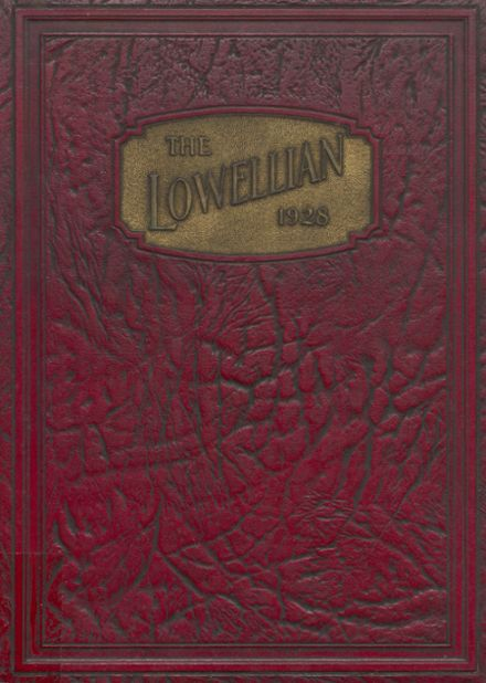 1928 Lowell High School Yearbook Cover
