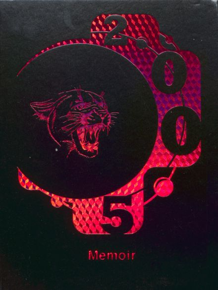 2005 Charleroi High School Yearbook Cover