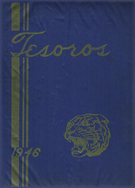 1946 Valencia High School Yearbook Cover