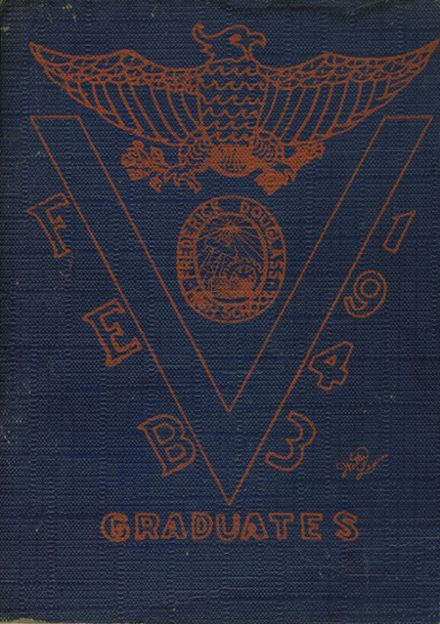 1943 Frederick Douglass High School 450 Yearbook Cover