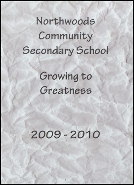 2010 Northwoods Community Secondary School Yearbook Page 5