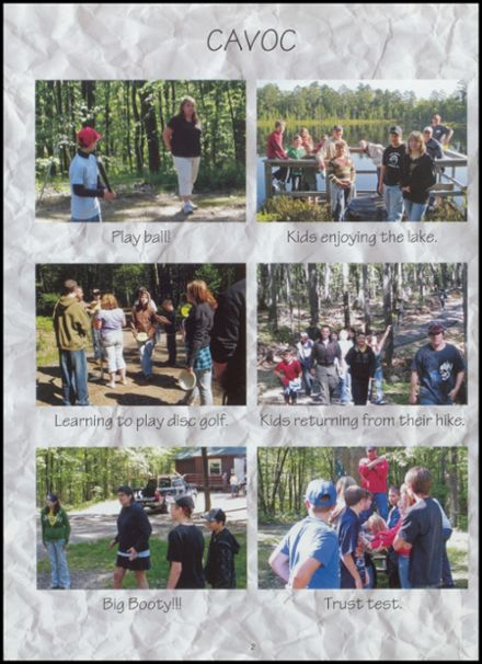 2010 Northwoods Community Secondary School Yearbook Page 6