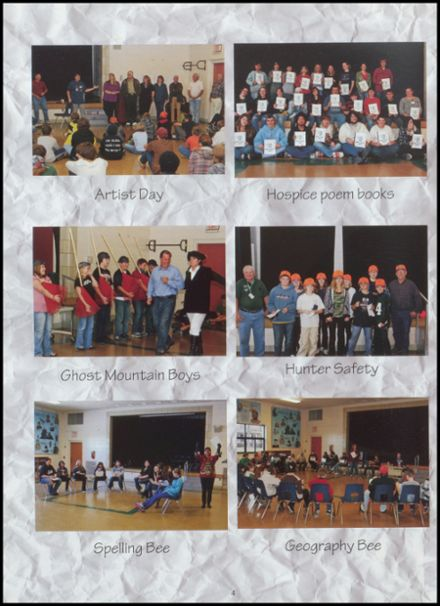 2010 Northwoods Community Secondary School Yearbook Page 8